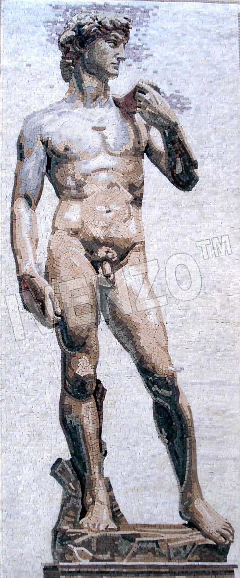 Mosaico FK039 Michelangelo: David