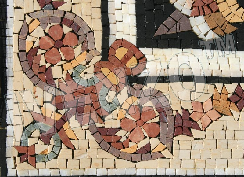 Mosaico CK054 Details tappeto 3